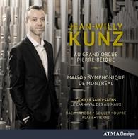 Jean-Willy Kunz au Grand Orgue Pierre-Béique